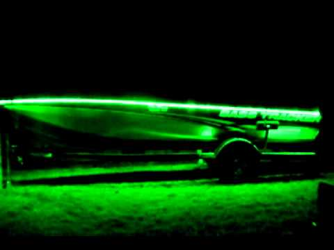 night fishing led's on my bass tracker 190tx - youtube, Reel Combo