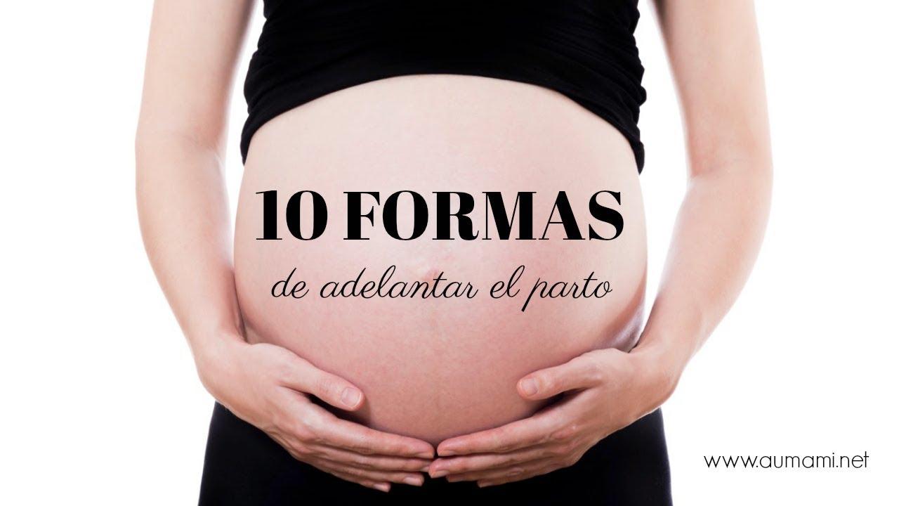 ejercicios para favorecer el parto natural