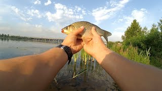 Рыбалка на мирную рыбу р. Днепр г. Каменское (Днепродзержинск)