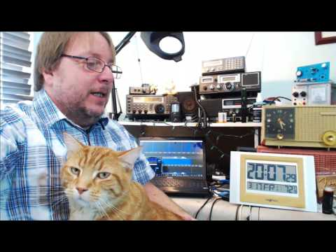 Tuning the shortwave radio bands on SDR March 17th 2017