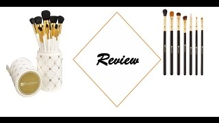 review bh cosmetics 14 complete set 7 eye essential brush set miss pi