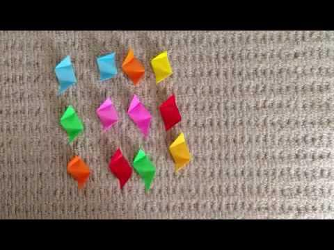 ハート 折り紙 : 折り紙24面体作り方 : popmatx.com