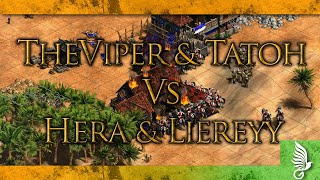 Скачать TheViper Tatoh Vs Hera Liereyy Age Of Empires II Definitive Edition Gameplay
