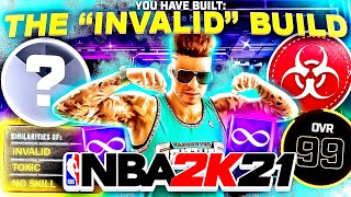 THE BUILD THAT MAKES EVERY COMP STAGE PLAYER RAGE IN NBA2K21