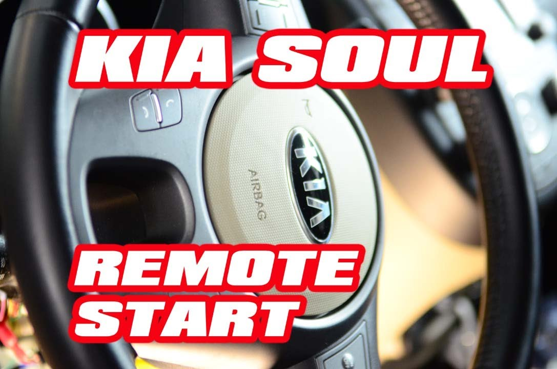 Kia Soul Remote Start Year 2013 installation with Compustar (FT6200s