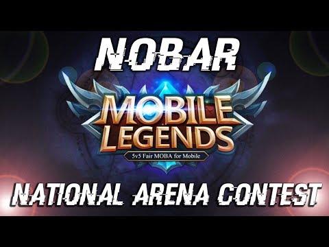 NOBAR INDONESIA VS JEPANG - Mobile Legends National Arena Contest [RESTREAM]