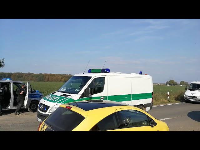 Polizeiaufgebot Hambacher Forst 14.09.2018