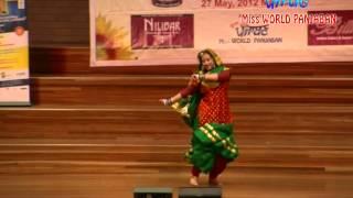 10/12 Amrit Bhurji dnace - Miss AUSTRALIA PUNJABAN 2012-13