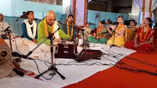 kirtan for welcoming  Srila Prabhupada to the TOVP 15 October...