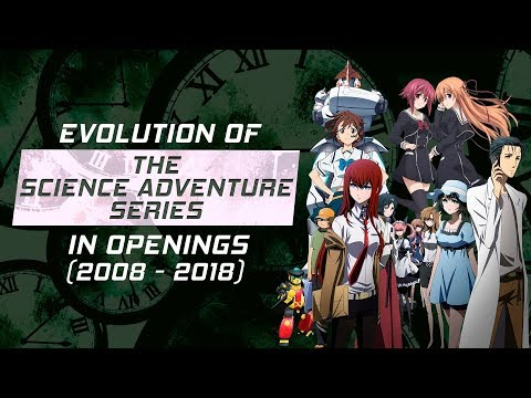 Evolution of the Science Adventure Series in s 20082018