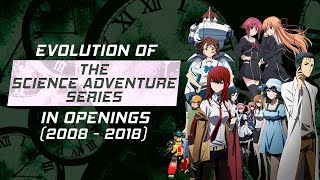 Evolution of the Science Adventure Series in Openings (2008-2018)