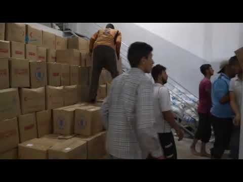 Homs: Relief Aid Convoys Enter Northern Homs 27-8-2017