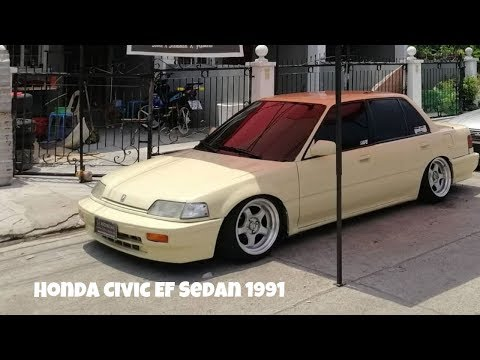 HONDA CIVIC EF SEDAN 1991! PAALAM CREAMY BOY!!!