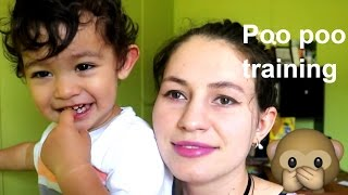 Potty Training  my Toddler .. Hard or Not?!!