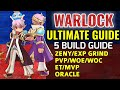 Warlock Ultimate Guide ALL BUILDS I KNOW (Beginner to Pro Warlock) Budget to OP Equipment