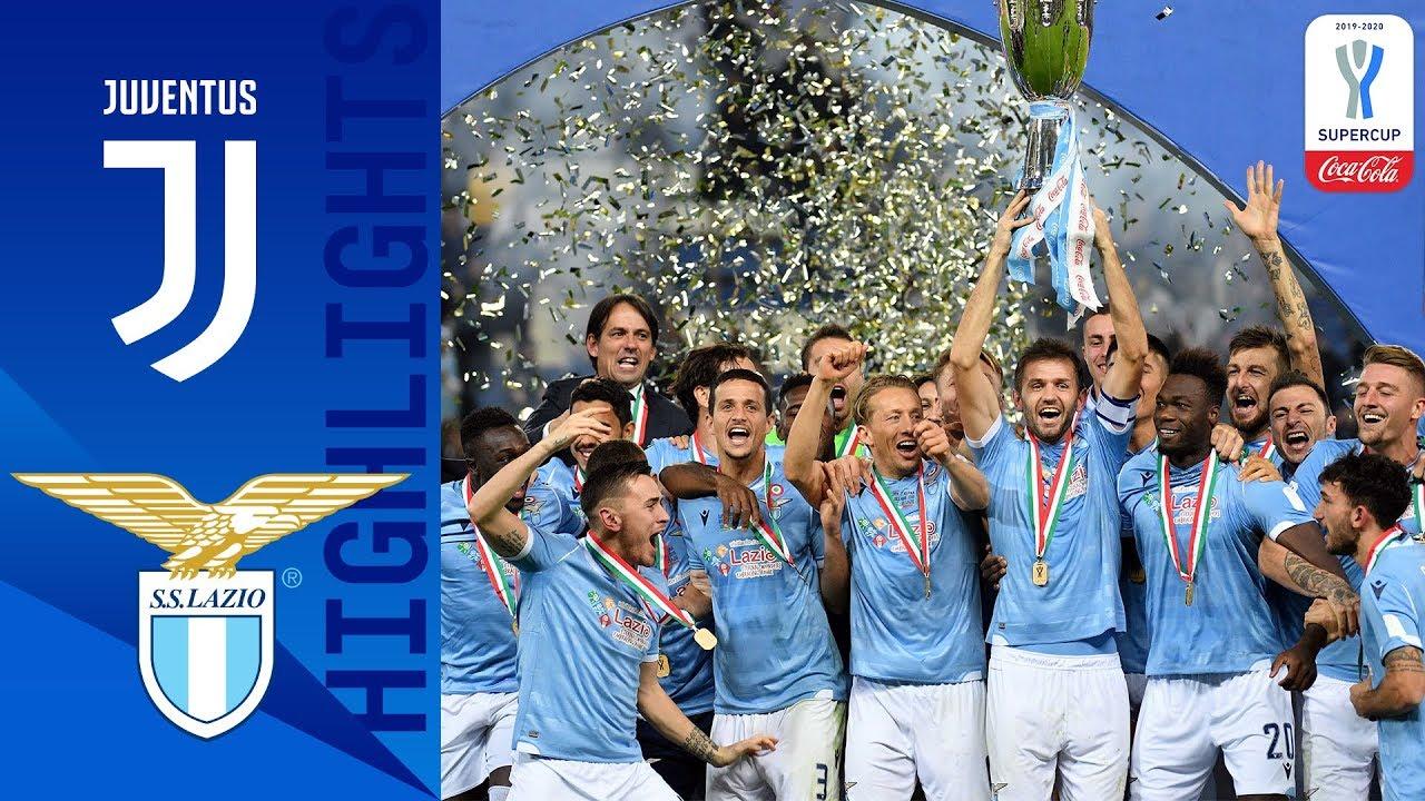 Juventus 1-3 Lazio   Lazio Beat Juve to Win Supercup!   Coca-Cola Supercoppa 19/20   Serie A TIM