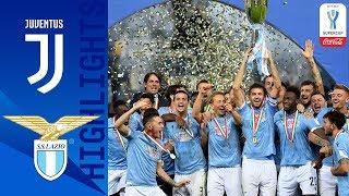 Juventus 1 3 Lazio Lazio Beat Juve to Win Supercup Coca Cola Supercoppa 19 20 Serie A TIM