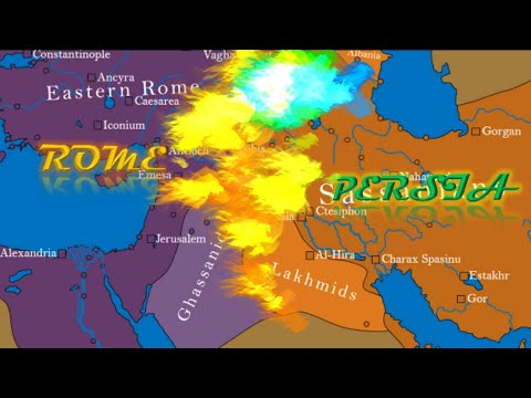 The Roman-Persian Wars (55 BCE-628 CE)