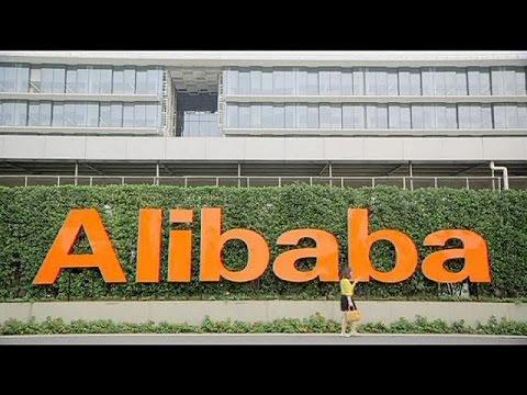alibaba devient la plus grosse entr e en bourse de l 39 histoire youtube. Black Bedroom Furniture Sets. Home Design Ideas