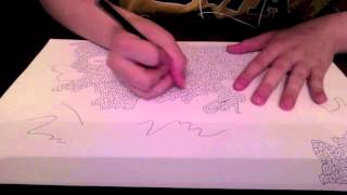 Drawing A Maze Ep 9 (Big Maze)