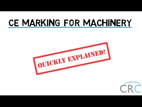 CE Marking For Machinery