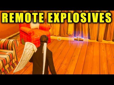 Fortnite: REMOTE EXPLOSIVES GAMEPLAY! *NEW* C4 UPDATE GAMEPLAY    Fortnite Battle Royale!