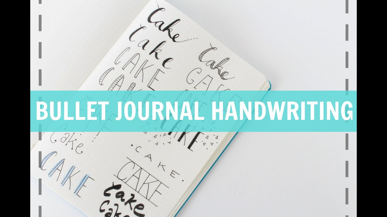 BULLET JOURNAL HANDWRITING