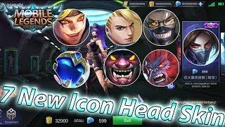 7 New SkinHanabi Venom,Hanzo,Sun Starlight,Chou,Gord,Uranus,Xborg - Mobile Legends