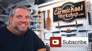 Subscribe To The Carmichael Workshop For Fun Woodworking Projects!