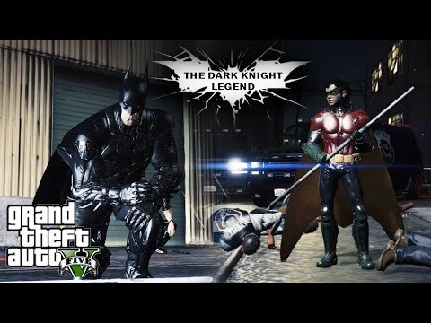 GTA 5: The Dark Knight Legend Part 5 (GTA V Machinima)