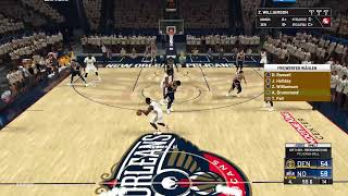 NBA 2kPlayoffs - Conference Finals Denver Nuggets at New Orleans Pelicans Game 1