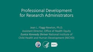 Professional Development for Research Administrators