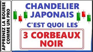 LES CHANDELIERS JAPONAIS C'EST QUOI LES 3 CORBEAUX NOIR? CONFIGURATION GRAPHIQUE DE CHANDELIERS
