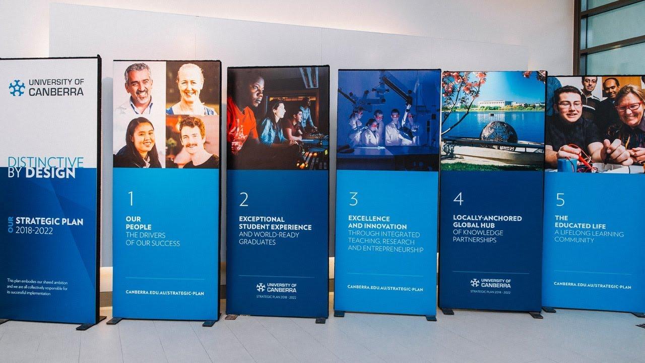 University of Canberra Strategic Plan 2018-2022