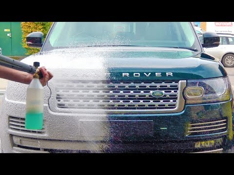 The £5,000 Car Wash! Range Rover Autobiography