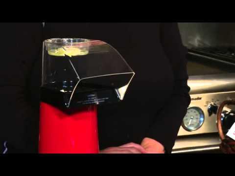 Cuisinart CPM 100 EasyPop Hot Air Popcorn Maker Red