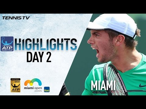 Highlights: Coric, Tiafoe Advance Thursday At Miami 2017