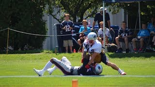 Julian Edelman KICKED OUT of Patriots Practice for Fighting