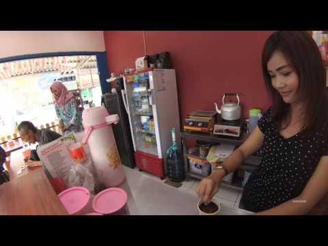 Greater Jakarta Street Food 908 Maja 4 Chocolate Latte MilkShake Stall 4K Part.1 5746