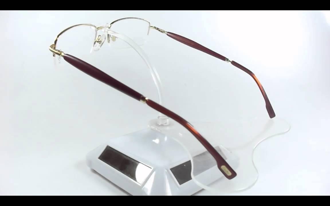 revisa una gran variedad de modelos mejor lugar Montura Cartier Madera Gold Palo De Rosa 54-18-146mm Opt0028