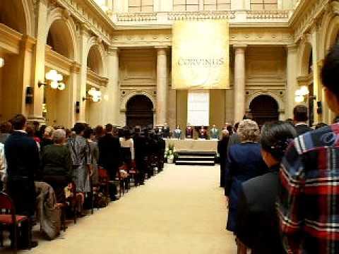 Graduation Ceremony of NGOCDIEP in CORVINUS UNIVERSITY HUNGARY
