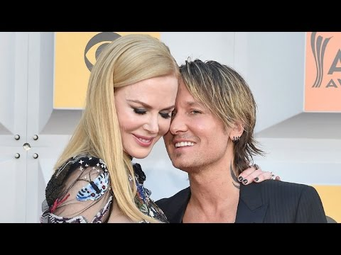 EXCLUSIVE: Nicole Kidman Makes Husband Keith Urban Blush on the ACMs Red Carpet!