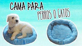 Como hacer una cama para perros/gatos, fácil - Tutoriales Belen