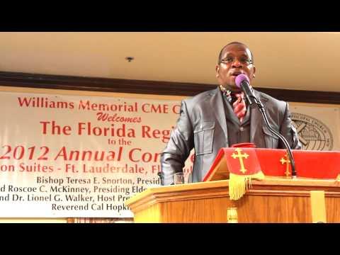 Pastor MCLJr - 2012 Annual Florida Conference - Ft. Lauderdale, FL