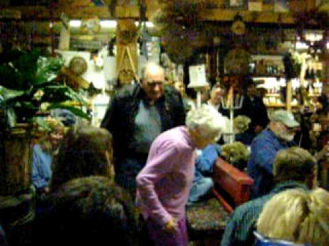 Ninety-two year old, Ruth Green, Flatfoots at Todd's General Store Todd NC