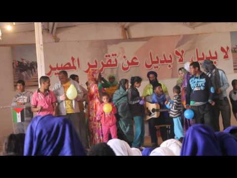 Canción del Centro de E. Especial. Wilaya de El Aaiún - SAHARA 2017