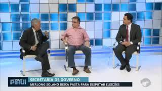 Sec. Merlong Solano - Jornal do Piauí - 28.03.18