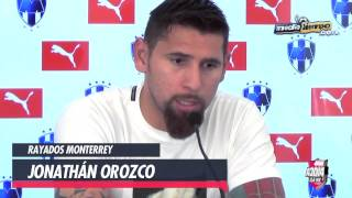 Jonathan Orozco elogió atajada de Nahuel Guzmán