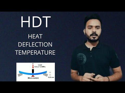 Download HDT( HEAT DEFLECTION TEMPERATURE ) PLASTIC TESTING -1