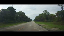Driving around Okeechobee, Florida